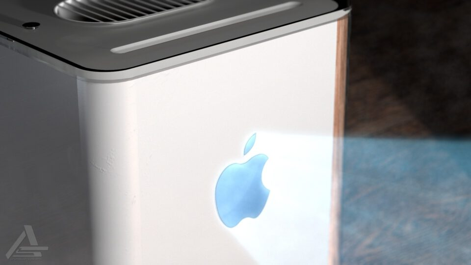 Apple - Cube